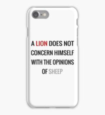Tywin Lannister Quote iPhone Case/Skin