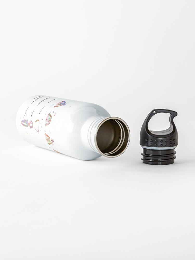 Alternate view of Dental implant procedure, dental anatomy, dental implant Water Bottle