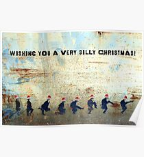 Ministry of Silly Christmas - WITH TEXT Poster