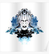 Rorschach Pinhead (Hellraiser) Poster