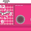 Retro Pink Radio by ClassicFlower