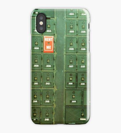 rent me  iPhone Case/Skin