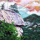 'Chimney Rock' by Jerry Kirk
