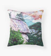 'Chimney Rock' Throw Pillow