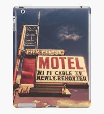 Retro Vintage Motel Sign iPad Case/Skin