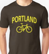 I Bike Portland, Oregon Unisex T-Shirt