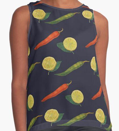 Chilli Lemon Sleeveless Top