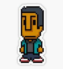 8-Bit Abed Nadir Sticker