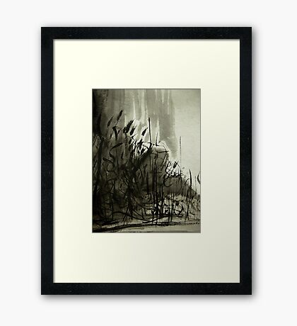 gorge forest.... Framed Print