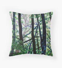 'Woods (Interior)' Throw Pillow
