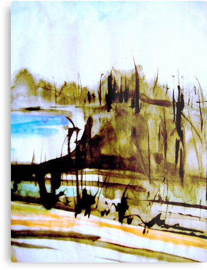 vineyard down to a blue sea #2.. by banrai