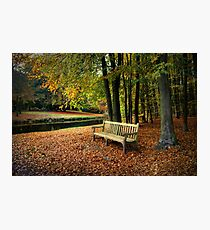 Sit Down And Enjoy Photographic Print