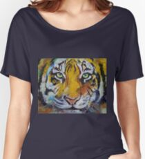 Tiger Psy Trance Women's Relaxed Fit T-Shirt