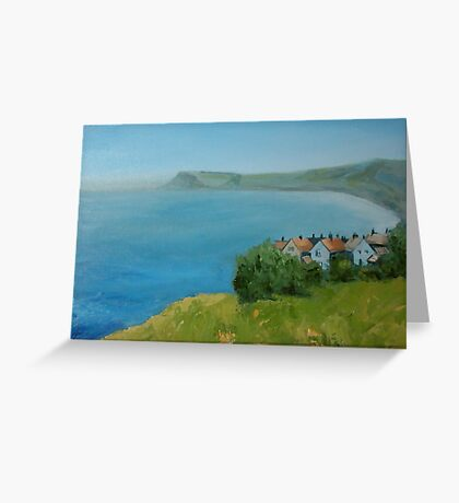 By the sea - North Yorkshire Greeting Card