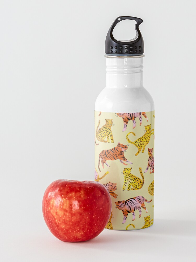 Alternate view of Tigers and Leopards Africa Savannah Water Bottle
