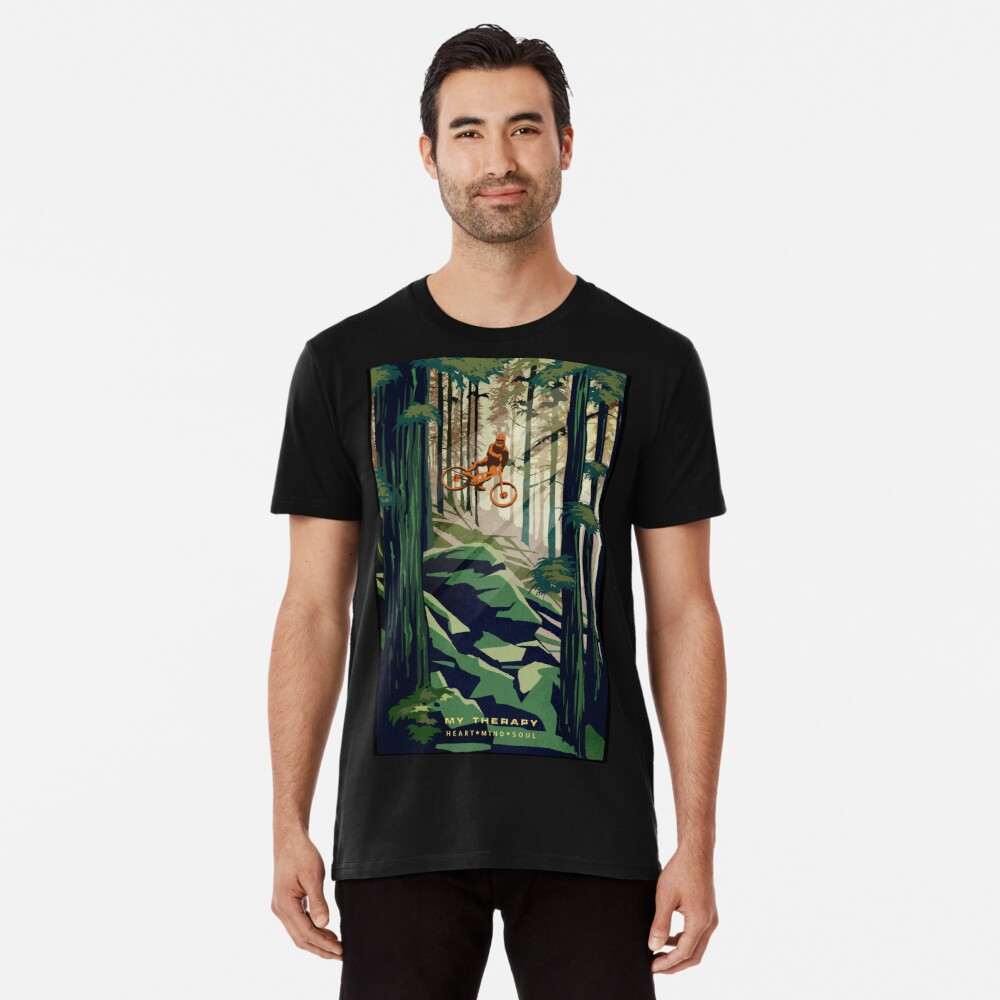 MY THERAPY: Mountain Bike! Premium T-Shirt