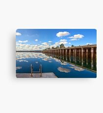 Port Augusta - Reflections Canvas Print