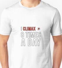 Weiss Schwarz Climax Unisex T-Shirt