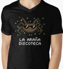 La Araña Discoteca - The Disco Spider Men's V-Neck T-Shirt