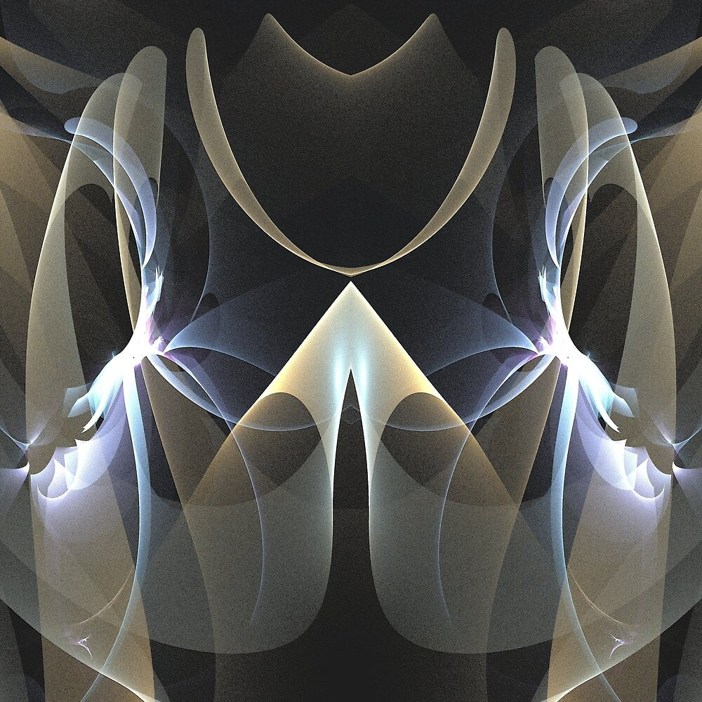 The mirrored abstract by walstraasart