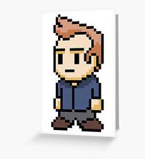 8-Bit Jeff Winger Greeting Card
