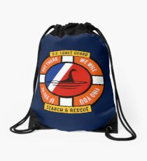 We Will Find You - Nessie Drawstring Bag