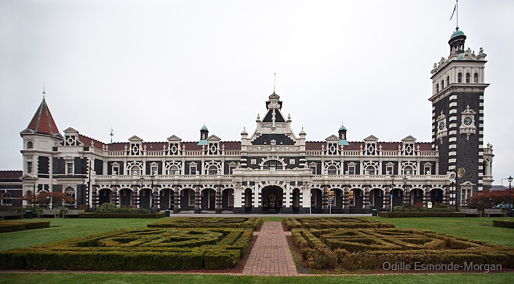 Dunedin Railway Station by Odille Esmonde-Morgan
