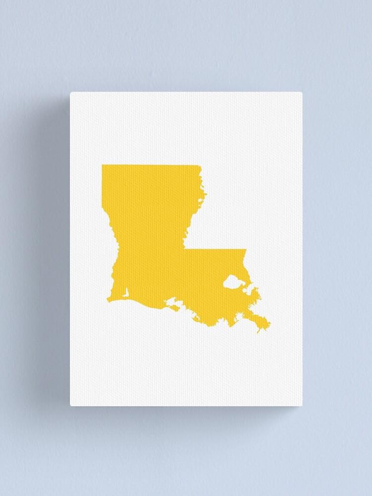 Alternate view of Louisiana Gold Canvas Print