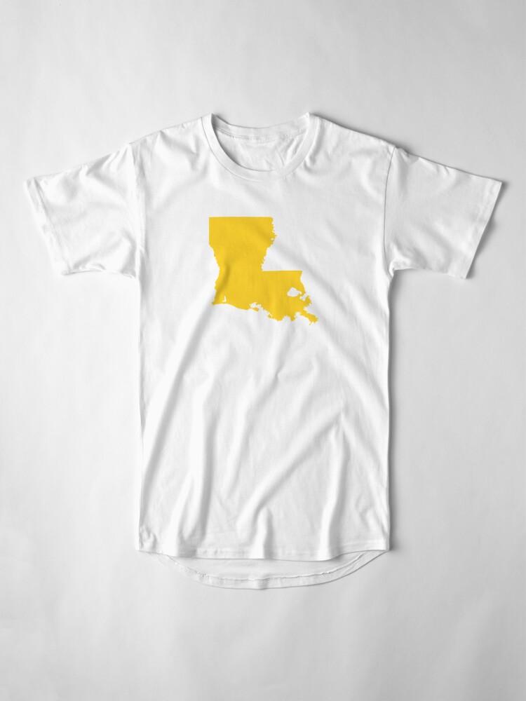 Alternate view of Louisiana Gold Long T-Shirt