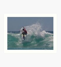 Vale Andy Irons Art Print