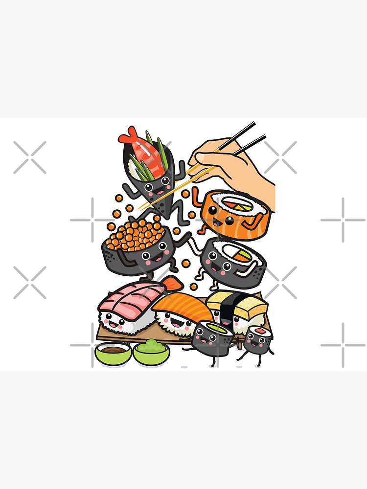 Sushi Party by plushism