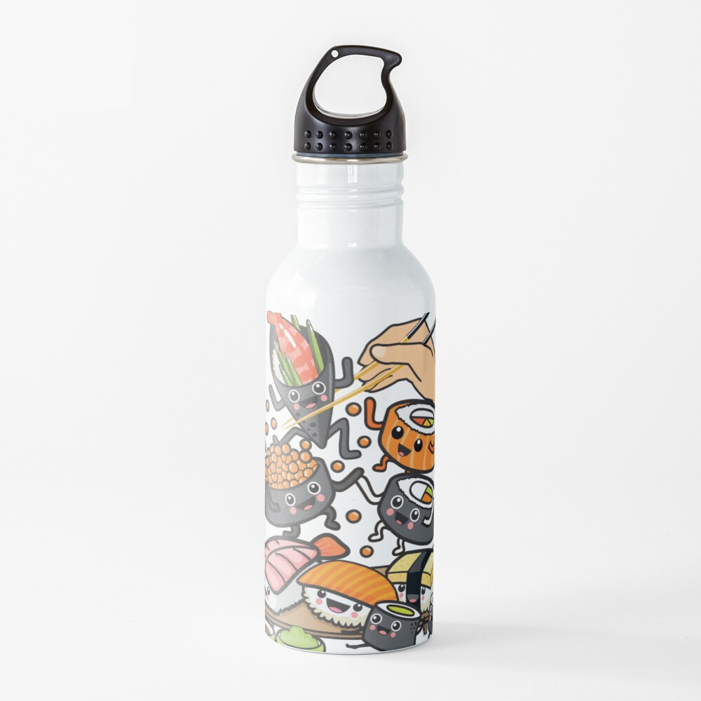 Sushi Party Water Bottle