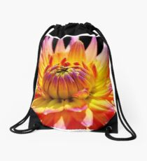 Bright Dahlia.. Drawstring Bag