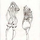 illustration fashion by lakeca