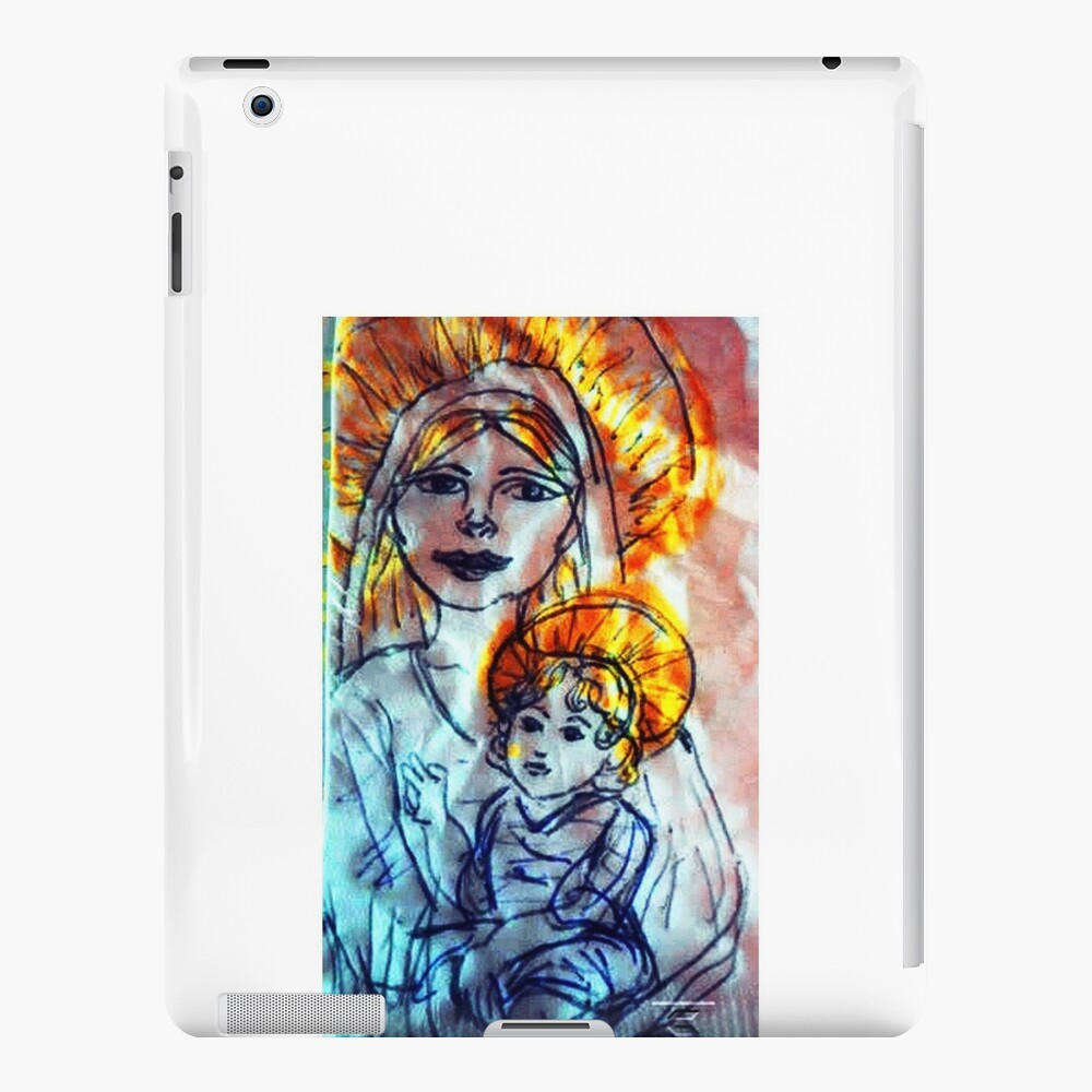 Madonna and Child iPad Cases & Skins
