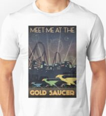 Final Fantasy VII Gold Saucer Travel Poster Unisex T-Shirt