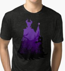 Midnight Maleficent Tri-blend T-Shirt