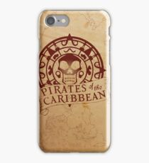 Pirates of the Caribbean Medallion 2 iPhone Case/Skin