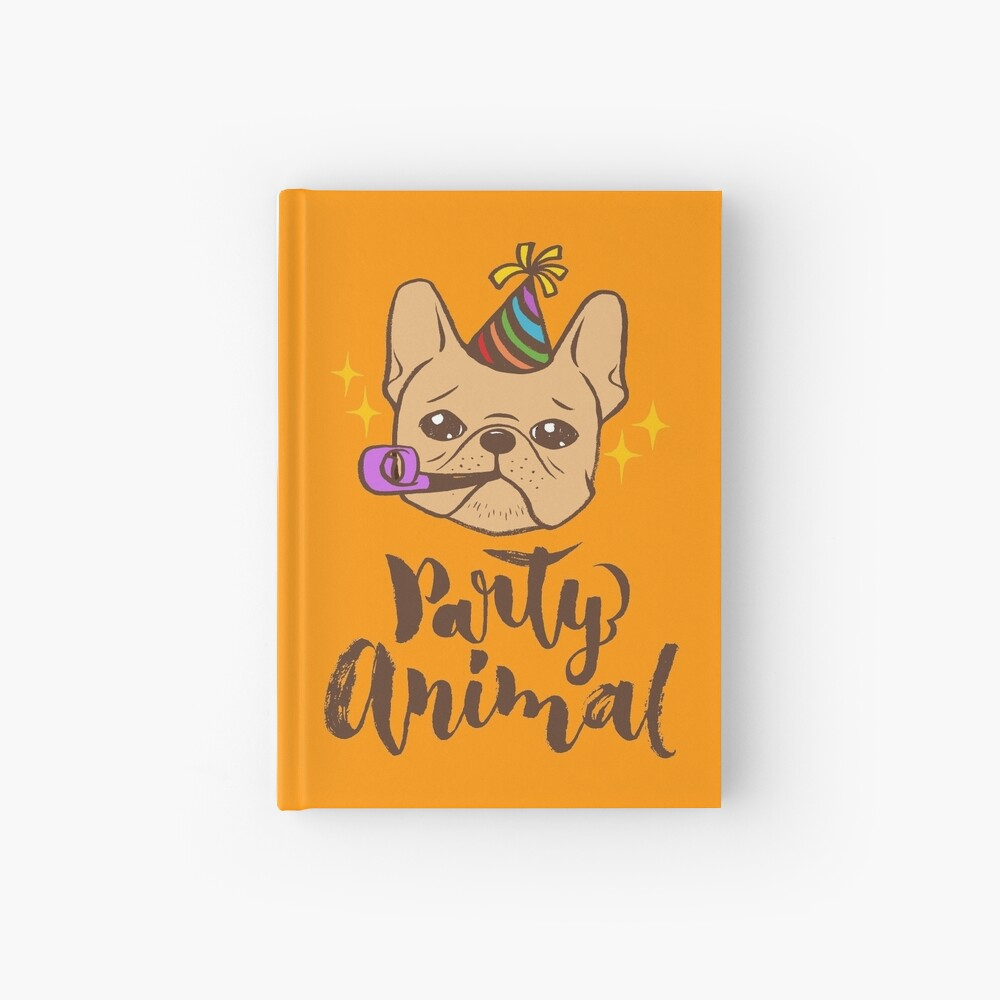 Party Animal Hardcover Journal