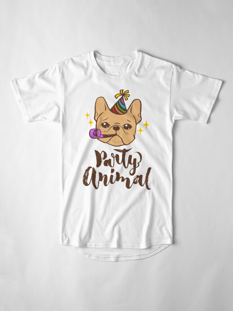 Alternate view of Party Animal Long T-Shirt
