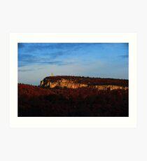 Shawangunk Ridge & Skytop tonemapped Art Print