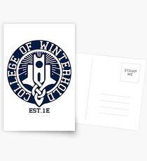 College of Winterhold Est. 1E Postcards