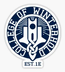 College of Winterhold Est. 1E Sticker