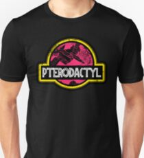 Jurassic Power Pink T-Shirt