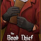 The Book Thief Mock Book Cover by Julia Moore