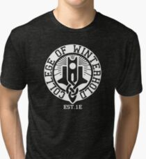 College of Winterhold Est. 1E (white) Tri-blend T-Shirt