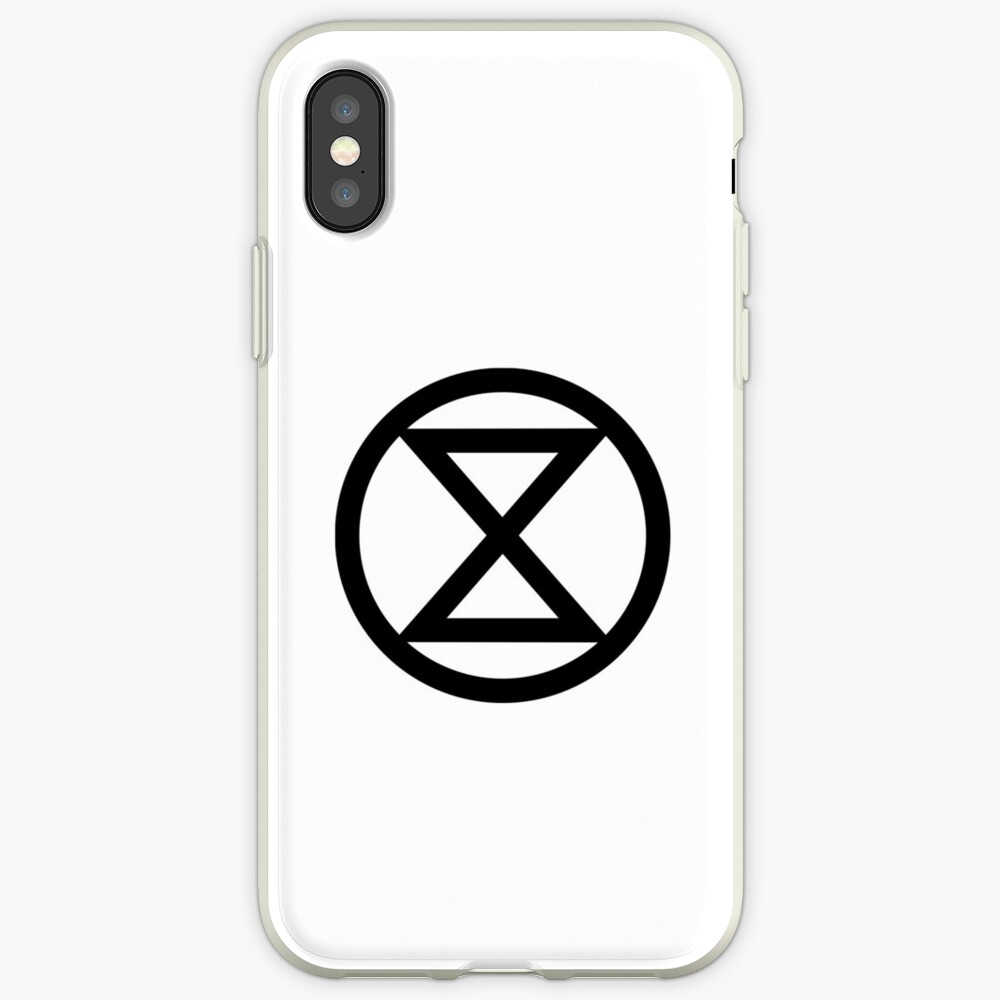Extinction Rebellion-Logo iPhone-Hülle & Cover
