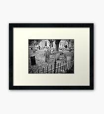 Church Yard~ Old Dutch Church Framed Print