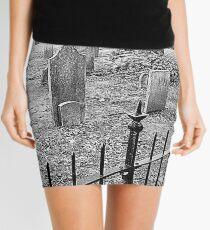 Church Yard~ Old Dutch Church Mini Skirt