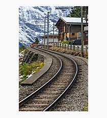 Swiss Railway Photographic Print